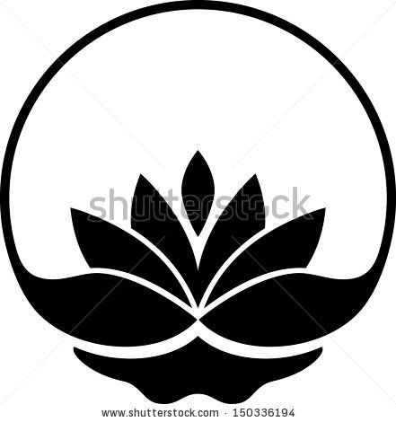 Lotus flower silhouette at getdrawings free for personal use 441x470 vector lotus flower free vector for free download about 54 free mightylinksfo