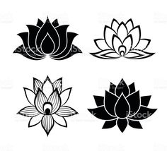 Lotus flower silhouette at getdrawings free for personal use 236x214 lotus flowers graphics drawings mightylinksfo