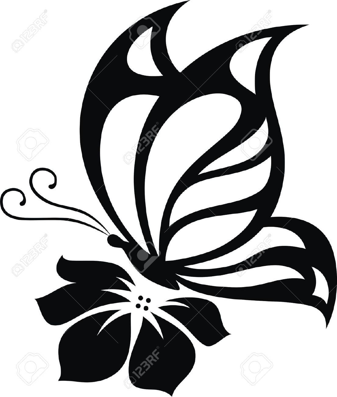Lotus Flower Silhouette At Getdrawings Free For Personal Use