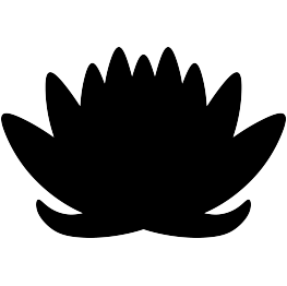 263x262 Free Svg Pdf Png Jpg Eps Lotus Flower Silhouette Baby Shower