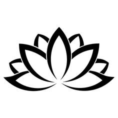 236x236 Simple Lotus Flower Logo