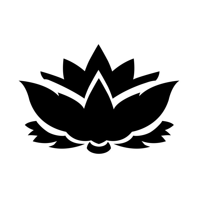 630x630 Limited Edition. Exclusive Lotus Flower Silhouette 2