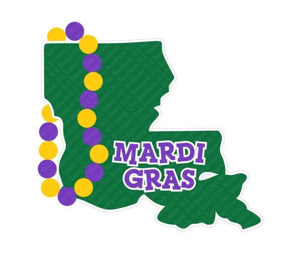 570x508 Louisiana Mardi Gras Svg Eps Ai Dfx Formats By 2sassychicboutique