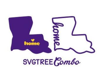 340x270 Louisiana Outline Etsy