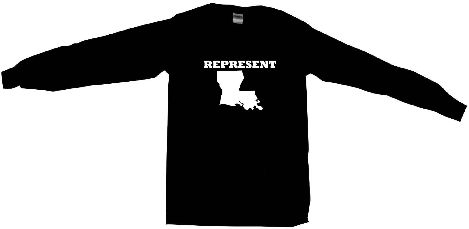 1947x953 Represent Louisiana Silhouette Mens Tee Shirt Pick Size Amp Color