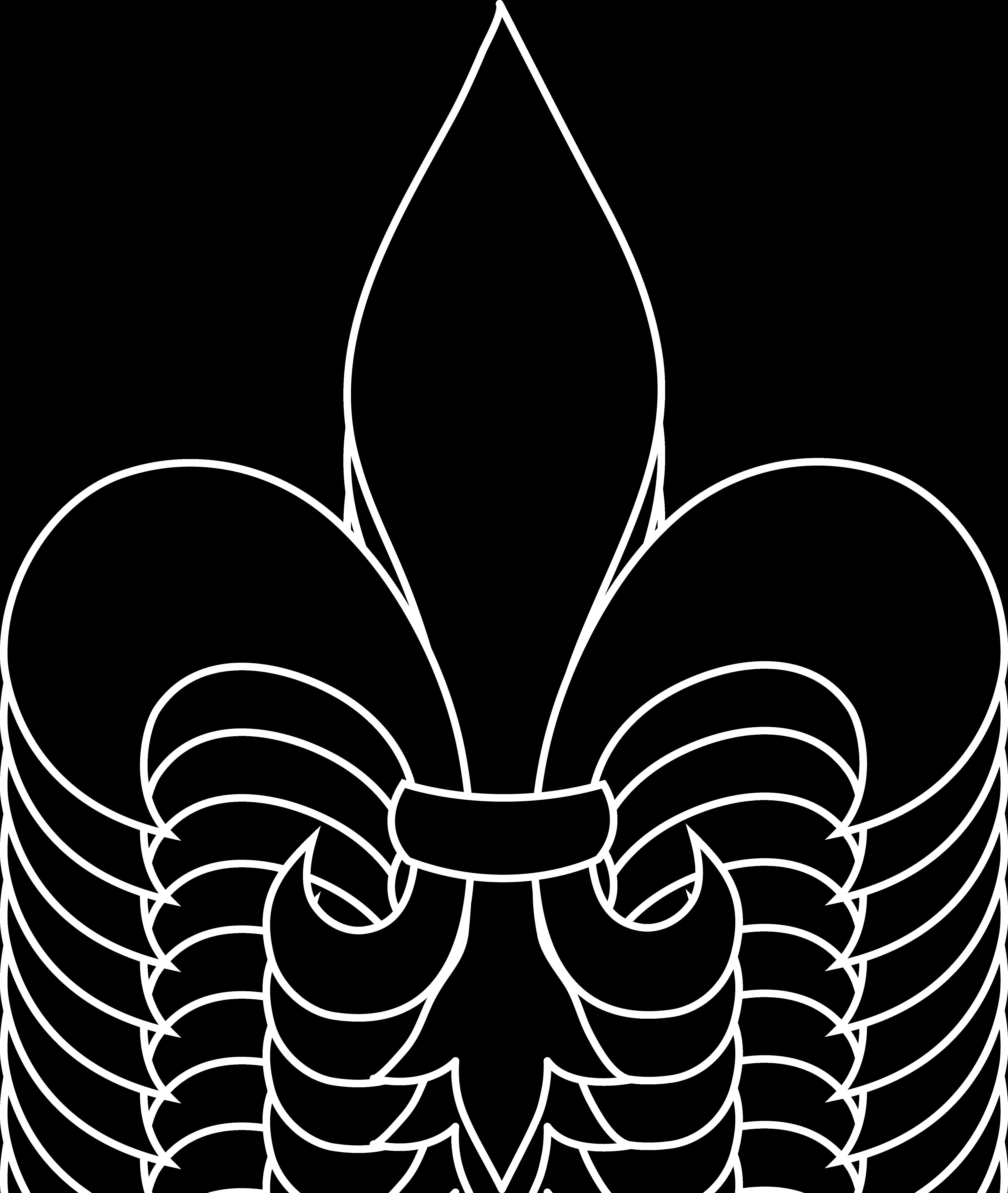 4480x5304 Frrench Free Clip Art Black Fleur De Lis Silhouette For Flyer