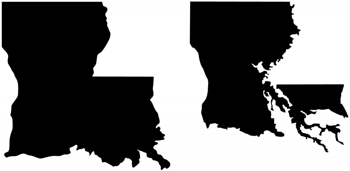 Louisiana Silhouette at GetDrawings | Free download