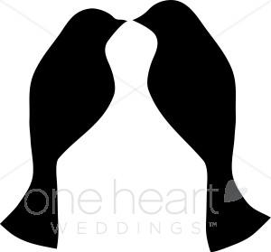 300x279 Lovebird Clip Art Wedding Bird And Butterfly Clipart