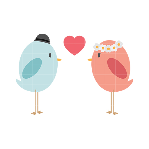 504x504 Bird Clipart Love
