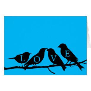 307x307 Love Bird Silhouette Gifts On Zazzle