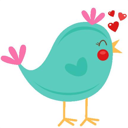 432x432 Cute Bird Clipart Love Birds On A Branch Commercial Use
