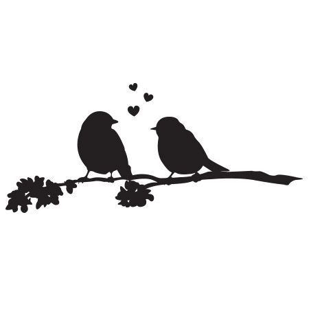 450x450 Love Birds Clip Art Free Love Birds Kissing Silhouette Love