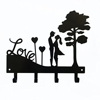 425x425 Love Couple Key Holder Key Holder For Wall Key