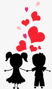 218x370 Couple Silhouette, Love, Lovers Png And Vector For Free Download