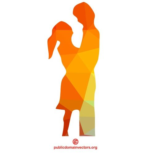 500x500 Couple In Love Vector Silhouette Public Domain Vectors