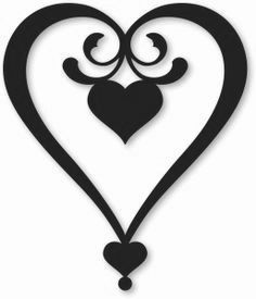 236x275 Love Silhouette Love Heart Love Pictures