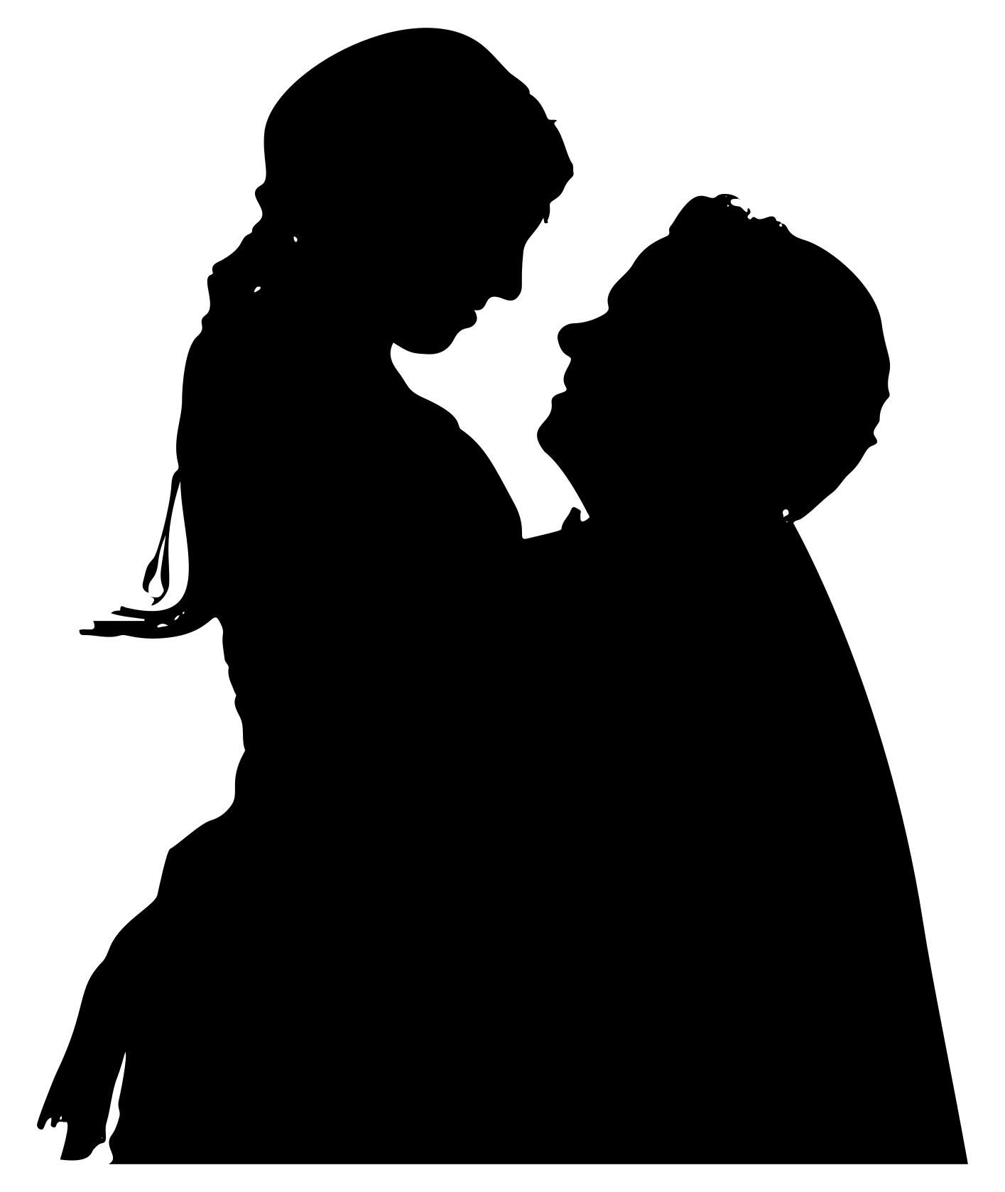 1415x1678 Couple In Love Silhouette Clipart