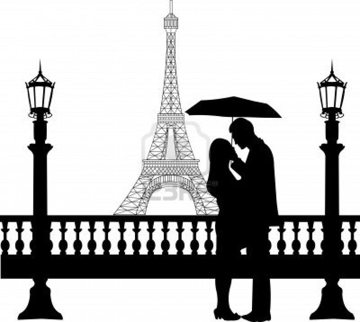 1200x1074 Eiffel Tower Clipart Love Silhouette