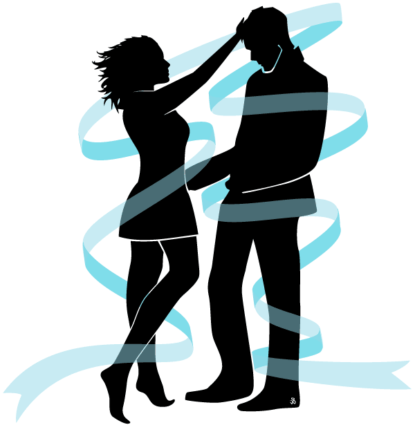600x615 Vector Love Couple Silhouette Image Download Free Vector Art