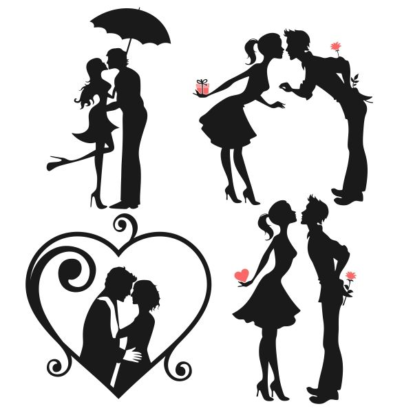 Lovers Silhouette Pictures