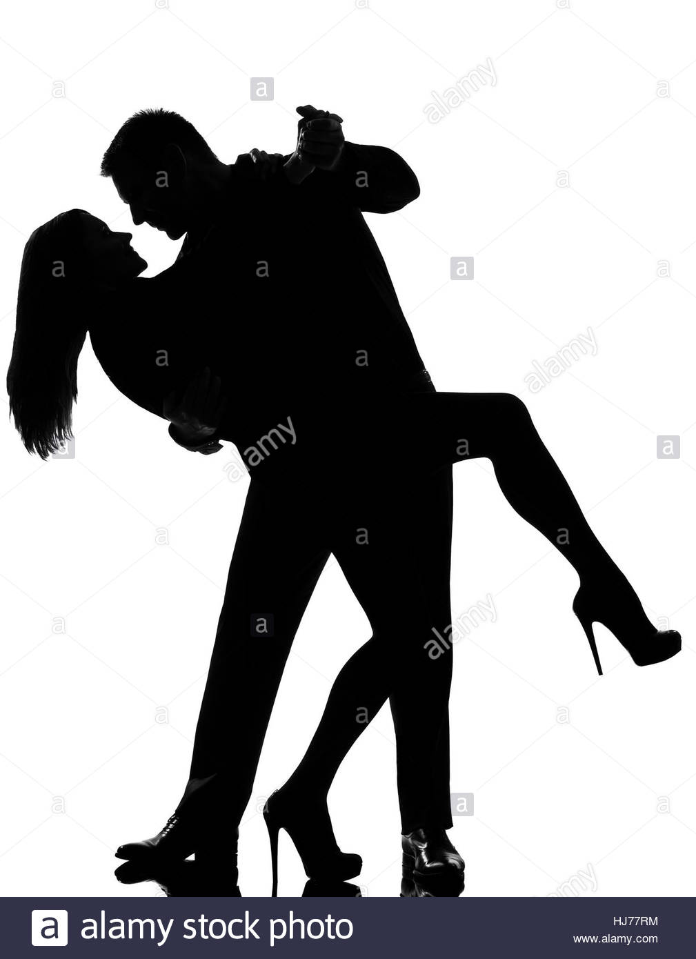 1009x1390 One Caucasian Couple Lovers Man And Woman Dancing Tango In Studio