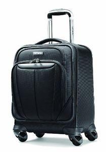 210x300 Samsonite Luggage Silhouette Sphere Spinner Boarding Bag, Black