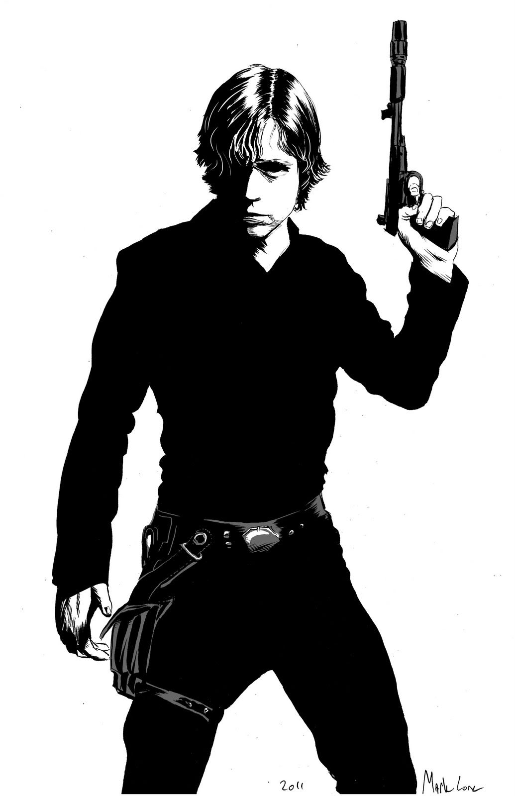 1035x1600 Luke Skywalker By Mark Lone. My Fave Star Wars Character Star