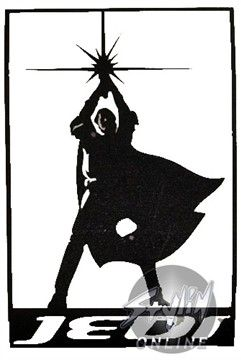 241x360 Star Wars Jedi Silhouette Black Decal For Bleach Art On Shirts