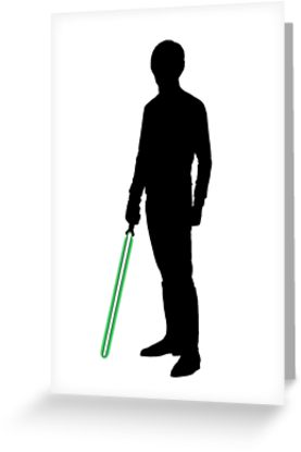 277x415 Star Wars Luke Skywalker Black Greeting Cards By Fn2187 Redbubble