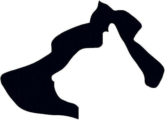 570x416 Dog Cat Silhouette Farm Animal Abstract Pet Instant Download