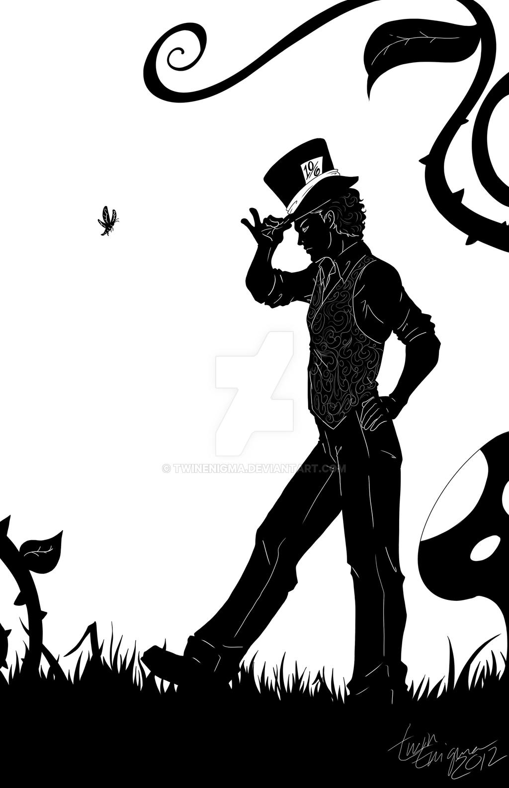 1024x1583 Mad Hatter In Wonderland By Twinenigma