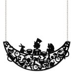150x150 Falling Alice Silhouette Pendant Necklace By Little Moose Alice