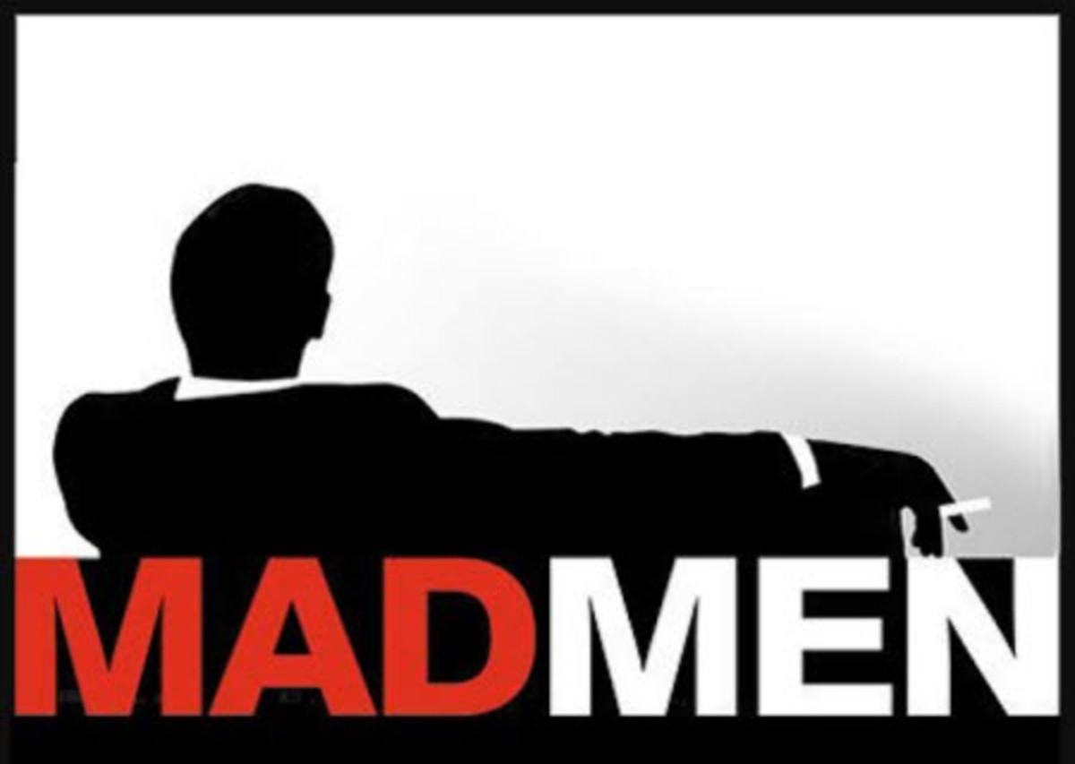 Mad Men Silhouette Poster