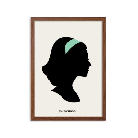 567x567 Mad Men Zou Bisou Bisou Poster Megan Draper Modern