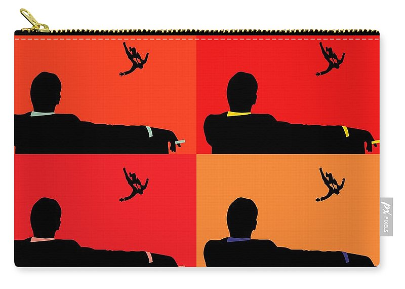 800x570 Mad Men Pop Art Collage Carry All Pouch For Sale By Dan Sproul