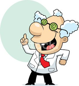 274x299 Mad Scientist Stock Vectors