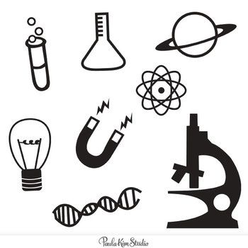 350x350 Simple And Bold Science Icon Clip Art Freebie Science Teaching
