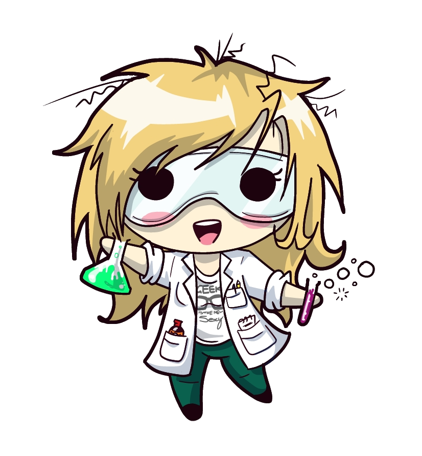 826x891 Chibi Blue By Mad Scientist Mimz On Clipart Library