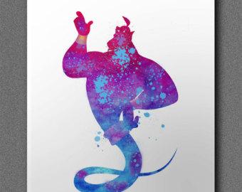 340x270 Disney Genie Lamp Silhouette