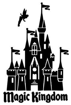 Magic Kingdom Castle Silhouette