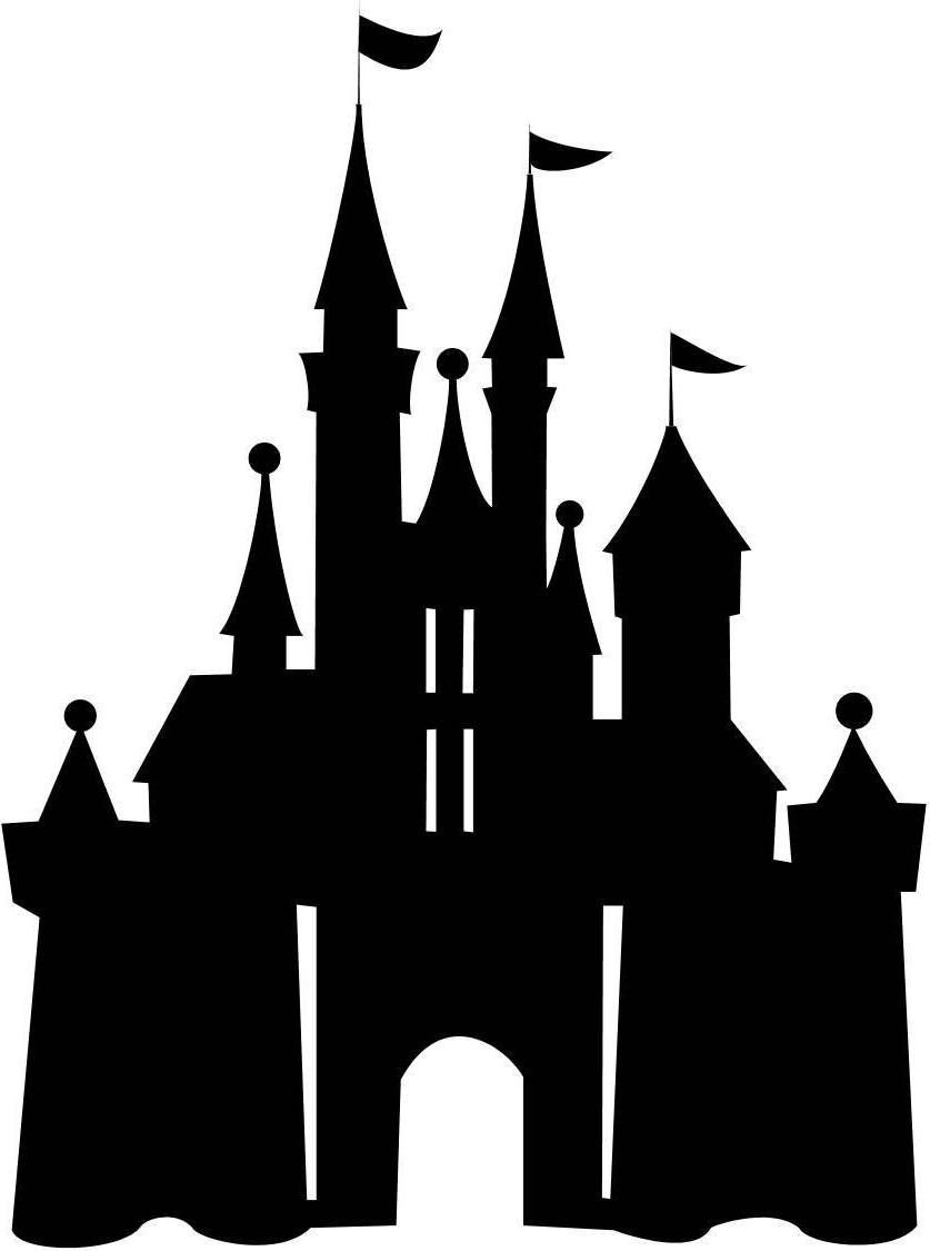 Magic Kingdom Castle Silhouette at GetDrawings   Free download