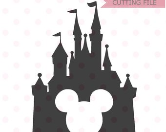 340x270 Disney Castle Svg Etsy