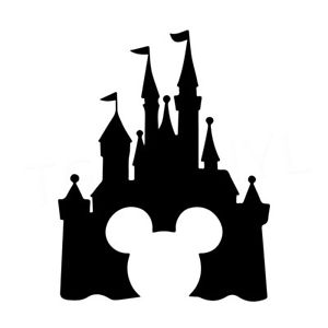 300x300 7.5 Disney Castle Vinyl Decal Sticker Car Window Laptop Magic