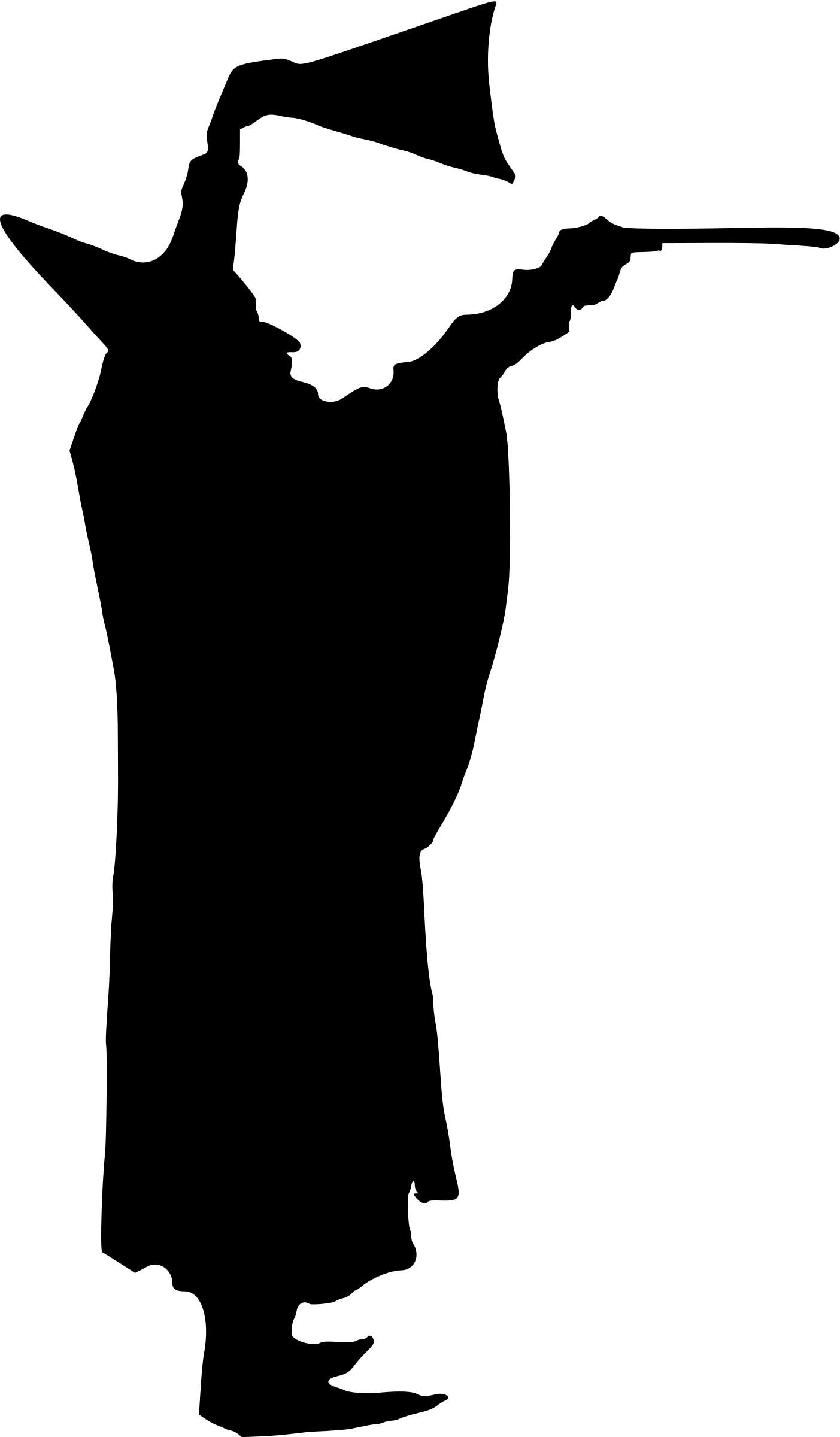 1403x2400 Magician Silhouette Icons Png