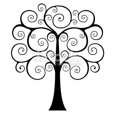 380x380 Swirly Tree Silhouette Swirly Tree Silhouette Pictures . Cute