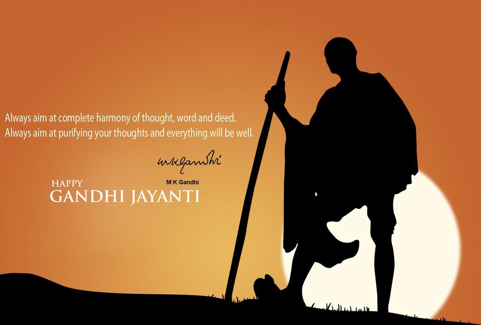 1600x1080 Happy Gandhi Jayanti Best Hd Wallpaper 33674