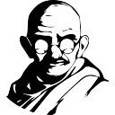 128x128 Mahatma Gandhi Icons Free Download