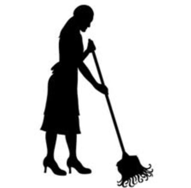 Maid Silhouette Clip Art