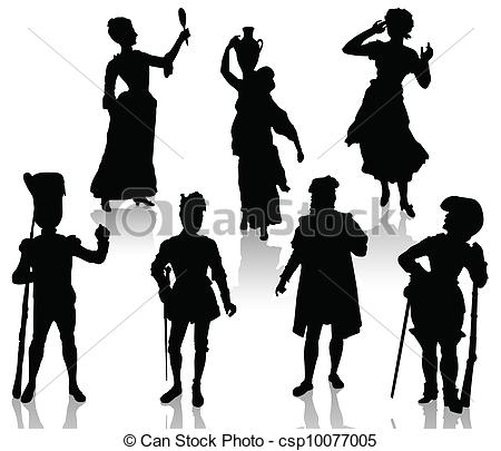 450x405 Actor Clipart Silhouette