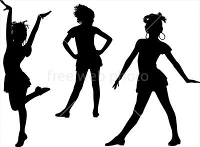 400x294 Happy Silhouettes Children Photo 3807 Download